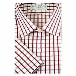 Half check shirt in Red & white from Arrow