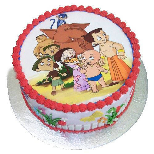 Sweet Celebration Chota Bheem Cake