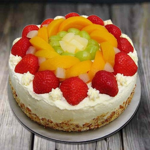 Longing's Love 1 Kg Egg-less Fresh Fruit Cake