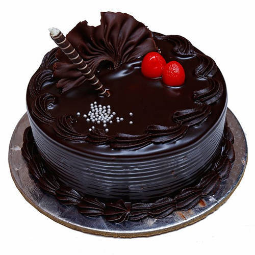 Blissful Chocolate Truffle Cake