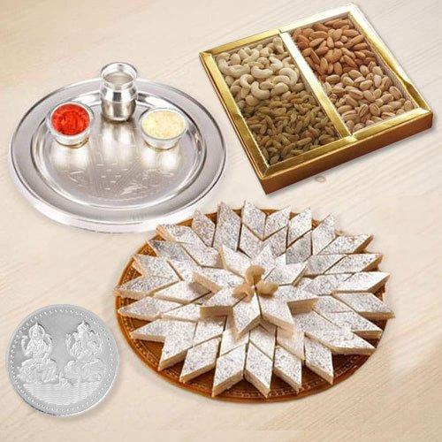 Haldiram Kaju Katli , Dryfruits N Thali , Free Coin
