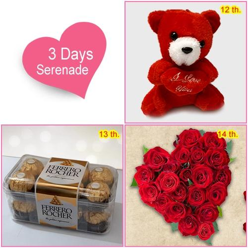 Send Valentiness Day Serenade for Ladies