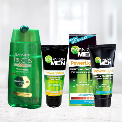 Beat the Heat with Garnier Bath Gift Hamper for Men