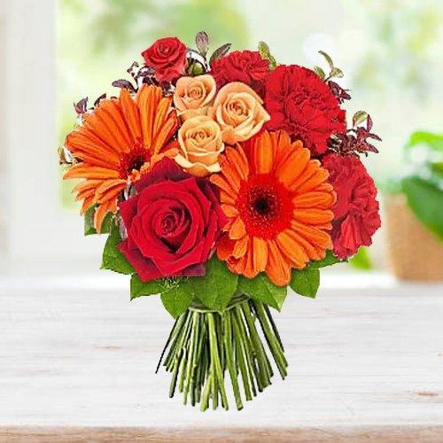 Beautiful Bouquet of Seasonal Flowers