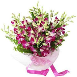 Joyful Paradise Orchid Stems Arrangement