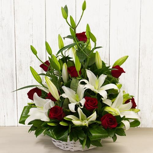 Energetic Special Premium Arrangement of Adorning Flowers