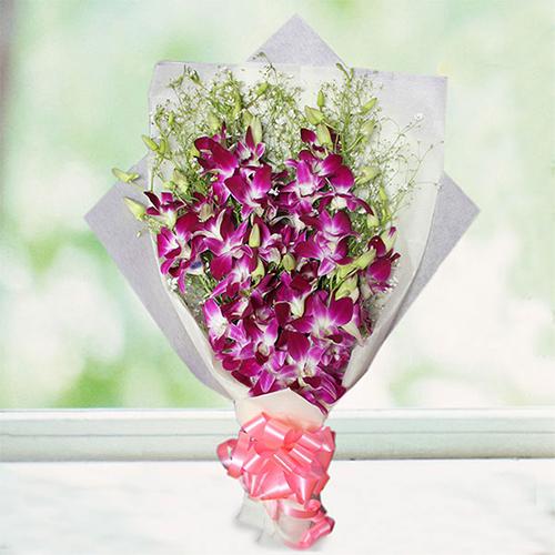 Radiant Orchids Bouquet