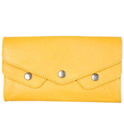Gorgeous Yellow Ladies Wallet from Titan Fastrack