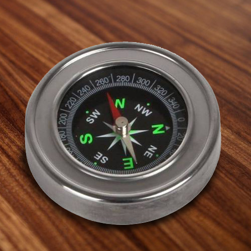 Impressive Pocket Metal Compass