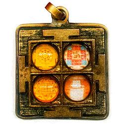 Lakshami yantra locket