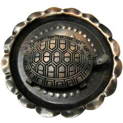 Majestic Tortoise in a Bowl Showpiece