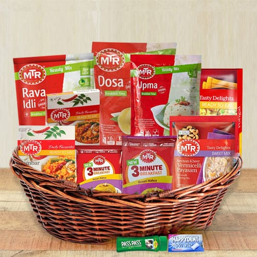 Delicious and Variation South Indian Dinner Hamper