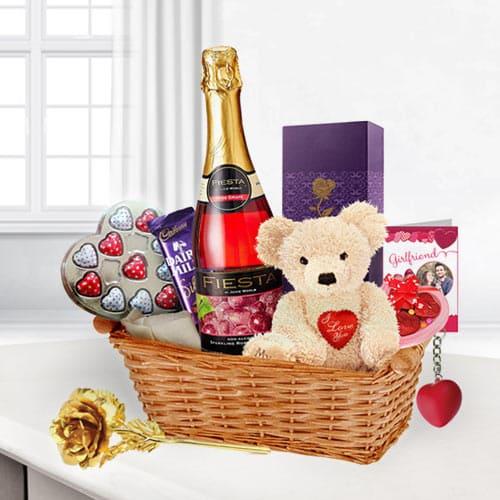 Valentine's Gift Basket