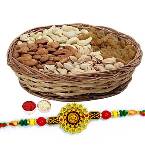 Dry Fruits with Rakhi
