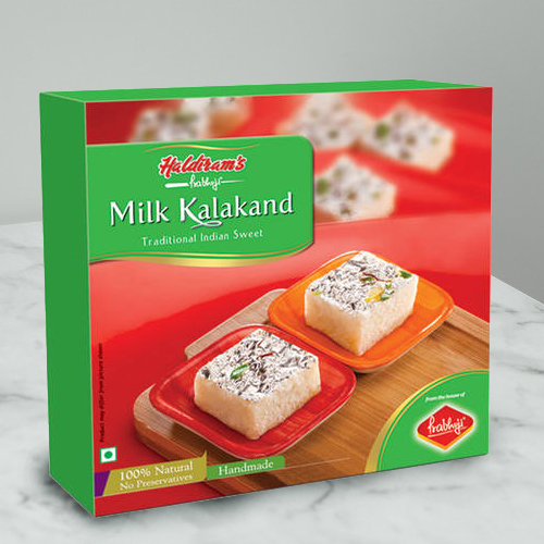 Craving's Prize Milk Kalakand Sweets from Haldirams
