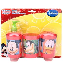 Lovely Mickey Designed Kids Bathroom Set
