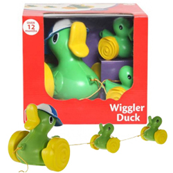 Riveting Funskool Wiggler Duck