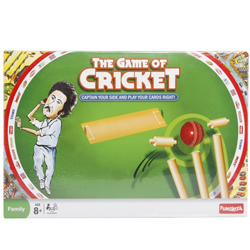 Bewitching Present of The Game of Cricket from Funskool
