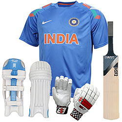 Talented Batsman Virat Kohli Batting Kit