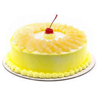 Appetizing Pineapple Cake from <font color=#FF0000><strong>Taj or 5 Star Hotel</strong></font> bakery to Vadodara