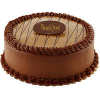 Lavish Chocolate Flavor Eggless Cake to Gandhi Road