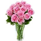 Charming Presentation of Roses in a Vase to Mehsana