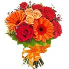Beautiful Bouquet of Seasonal Flowers to Asarwa