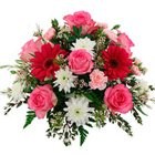 Assorted Flowers Bouquet to Khadia