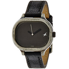 Scintillating Fastrack Watch for Women in Black Dial to Salangpur Hanuman
