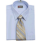 Full Sleeves Matching Shirt and  Tie from Raymonds<br>(Fabrics cotton)