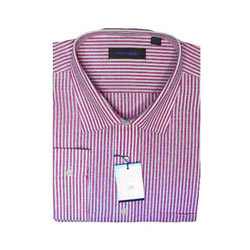 Peter England Striped Shirt (full shirt)