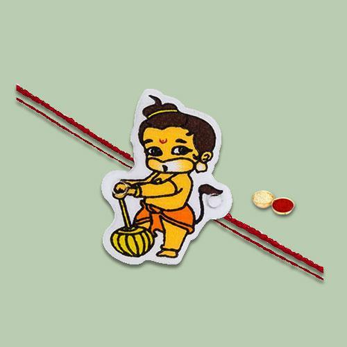 Exciting Kids Special Cartoon Design Rakhi