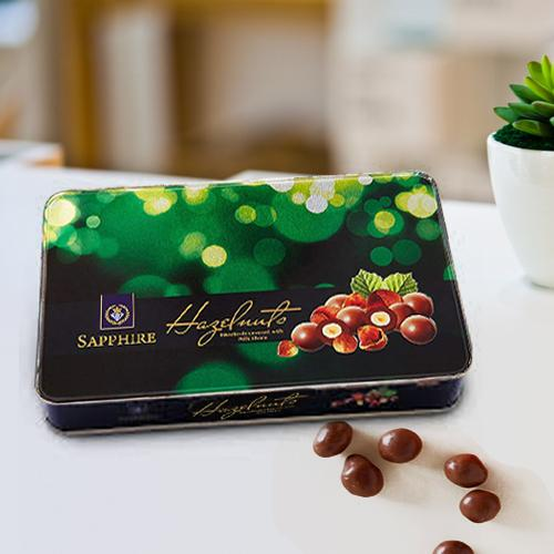 Lip-Smacking Sapphire Hazelnuts Chocolates with a Lovely Mood