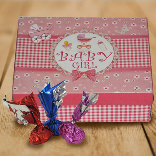 Magical Baby Girl Homemade Chocolate Gift Pack
