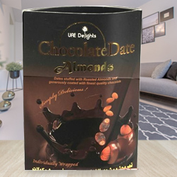 Lip-Smacking Array of Chocolate Wrapped Date-Almond