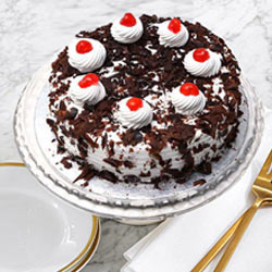 Rich and Creamy Black Forest Cake from Taj or 5 Star Hotel Bakery
