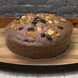 Savory Bliss 2.2 Lbs Fresh Baked Eggless Cake from 3/4 Star Bakery