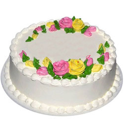 Gift Online Vanilla Eggless Cake
