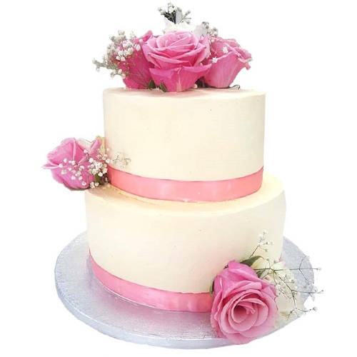 Order Online 2 Tier Wedding Cake