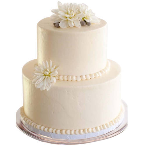 Online Order 2 Tier Wedding Cake