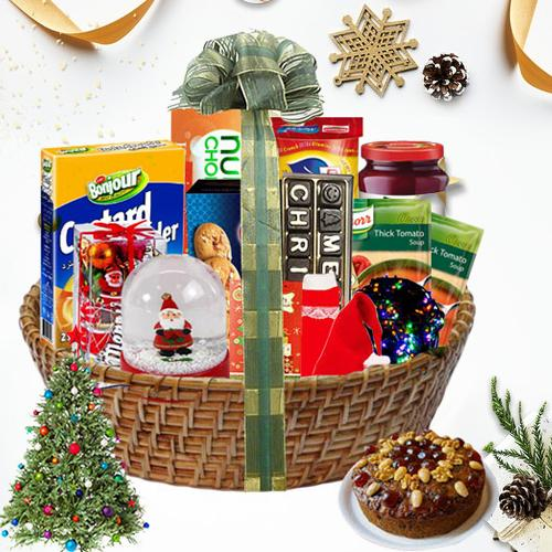 Exciting Christmas Traditional Hamper<br>