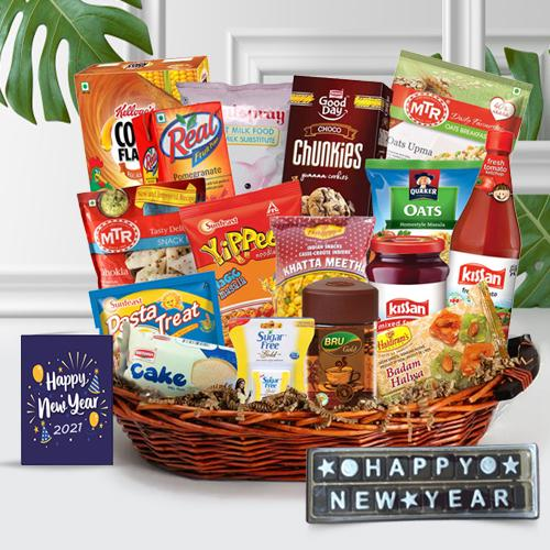 Lets Celebrate the Togetherness New Year Gift Hamper