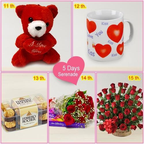 Gift Online 5 Day Serenade Gift