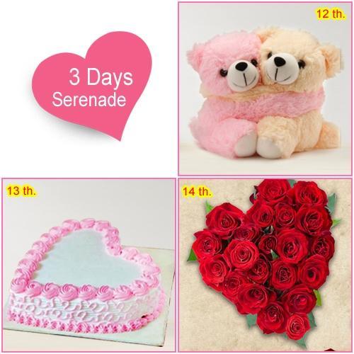 Order 3 Day Serenade Gift Online