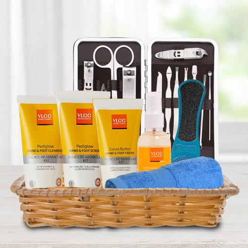 Precious Basket Full of Essential VLCC Foot Products