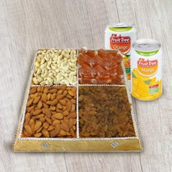 Snack's Elect Dry Fruit and Beverage Gathering