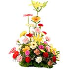 Stunning Arrangement of Beautiful Mixed Flower with Impression of Love