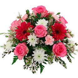 Gift Online Assorted Flowers Bouquet