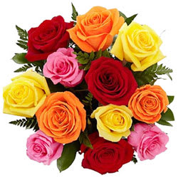 Send Online Mixed Roses Bouquet