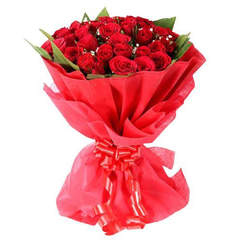 Deliver Red Roses Bouquet Online